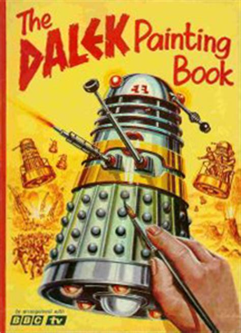 dal duch books the dalek painting book doctor who collectors wiki