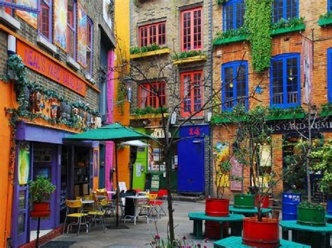 colorful houses colorful houses to neal yard pixdaus