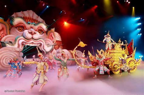 phuket fantasea popular  show  phuket