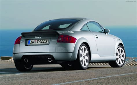 Audi TT 2004 Widescreen Exotic Car Wallpaper #09 of 28 : Diesel Station