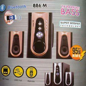 Speaker Gmc 888l jual gmc speaker aktif a 886 baru speaker mini bluetooth wireless murah terjual
