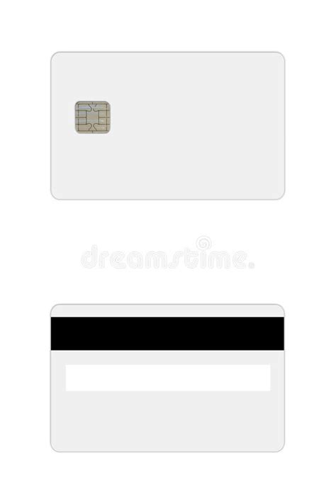 free bank card template credit debit card template stock photo image 49918475