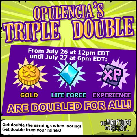 opulencia deutsch the mighty quest for epic loot event opulencia s