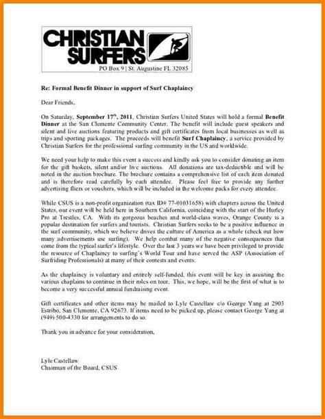 donation request letter profit sales slip