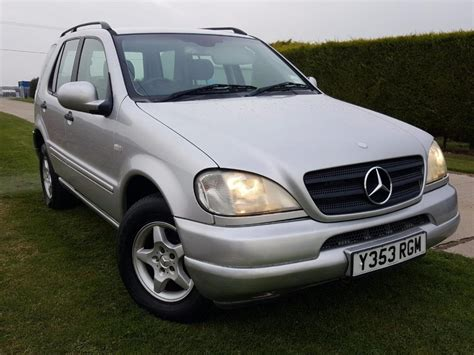 Used Mercedes Ml320 For Sale by Used 2001 Mercedes Ml Ml320 For Sale In Hshire