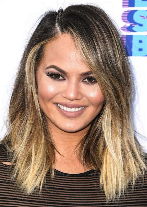 chrissy teigen hair color 1000 ideas about chrissy teigen hair on hair