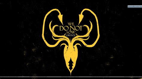 greyjoy wallpaper game of thrones we do not sow greyjoy wallpaper