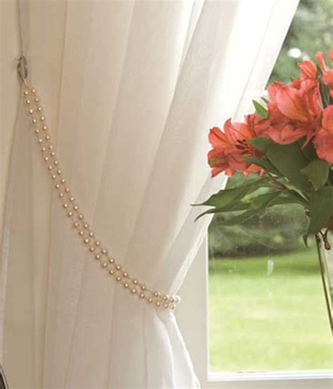 pearl curtain tie backs 17 best images about curtain tie back ideas on pinterest