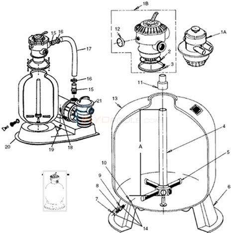 sand filter parts diagram pac fab pentair sand dollar system pack prior to 2009