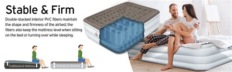 etekcity upgraded air mattress up elevated raised bed airbed with