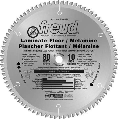 10 inch miter saw blade for laminate flooring freud 10 inch x 80 th ultra finish the home depot