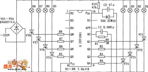 what is the purpose of a integrated circuit multi function program controlled flash integrated circuit composed of cd71061 remote control