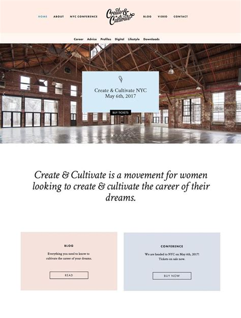 31 Best Great Squarespace Sites Images On Pinterest Website Designs Design Websites And Site Feminine Squarespace Templates