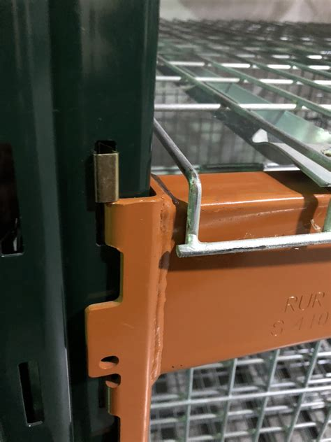 Cl Racks by Cl Clip Ridg U Rak Beam Safety Clip Warehouse Rack And Shelf