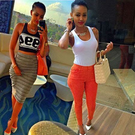 see this instagram photo by ny mcgee afro hair curly socialite huddah monroe gets a new look entertainment news