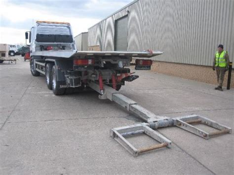 truck bed slide for sale mercedes actros 3343 6x4 slide bed lift recovery truck