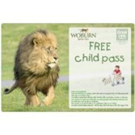 discount vouchers woburn safari park print a free children s admission pass to woburn safari