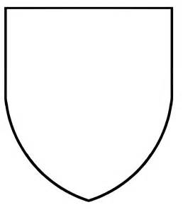 crest template free coloring pages of coat of arms template