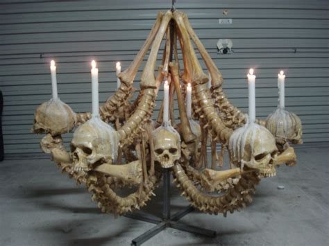 Bone Chandelier Bone Chandelier By Leighmarsh On Deviantart