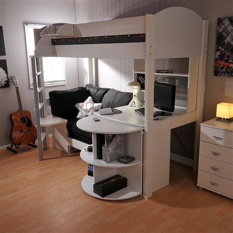 Stompa Casa 6 High Sleeper by Stompa Casa 4 High Sleeper With Sofa Bed Pull Out Desk