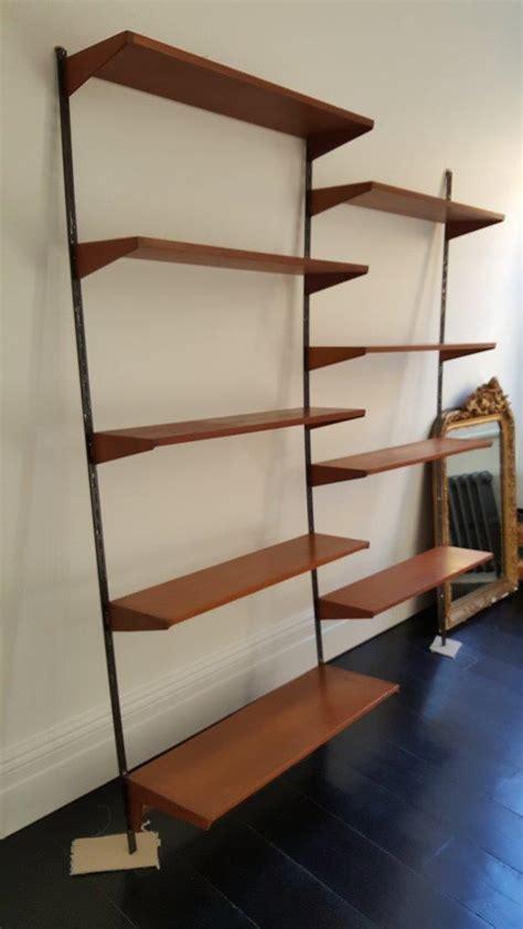 mid century modern wall mounted shelves shelves kai kristiansen mid century danish modern fm wall mounted