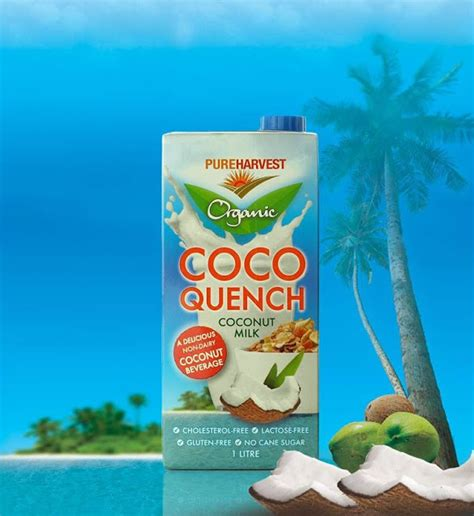 Coco Quench Review | stacie michelle product review pureharvest coco quench milk