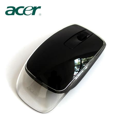 Mouse Wireless Merk Acer brand new transparent arc wireless laser mouse cordless