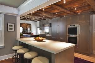 Ceiling Kitchen Lights Kitchen Ceiling Lights Kitchen Transitional With Baseboards Breakfast Bar Cable