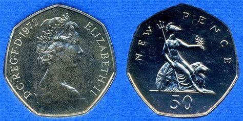 Koin Elizabeth Ll Dg Reg Fd how much is an elizabeth 11 dgregfd 1969 50 cent pence