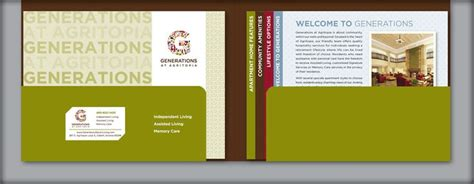 generations at agritopia pocket folder booklet stair
