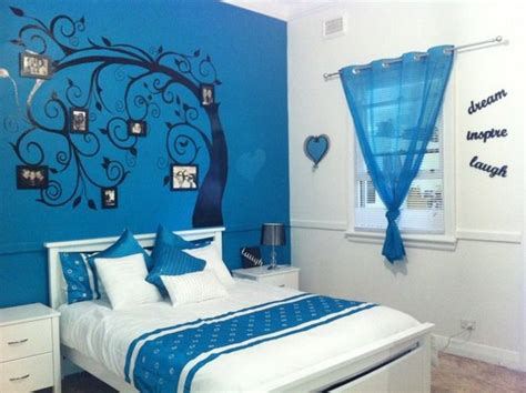 Blue Girls Bedroom Ideas | blue bedroom decorating ideas for teenage girls