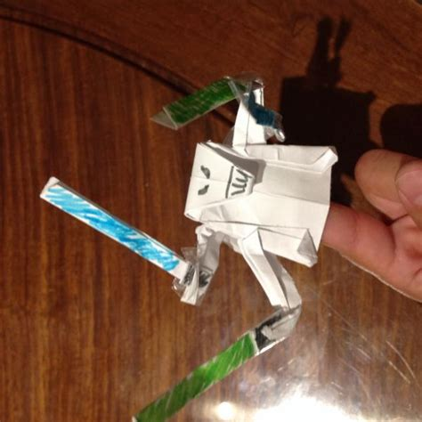 origami yoda finger puppet finger puppet general grevious origami yoda