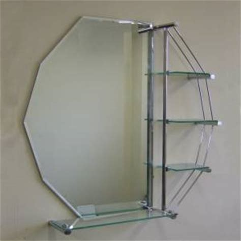 octagon bathroom mirror octagon bathroom mirror with shelves review compare
