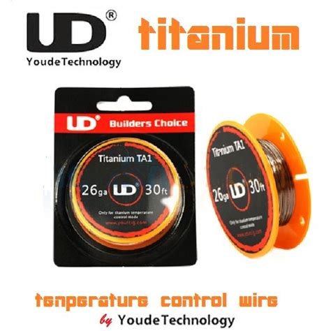 Kawat Wire 0 4mm jual beli authentic youde ud titanium wire 26 awg 0 3mm