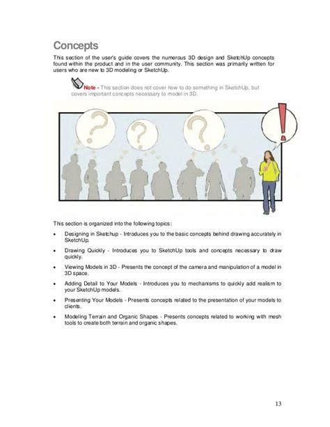 sketchup layout user manual sketchup user guide