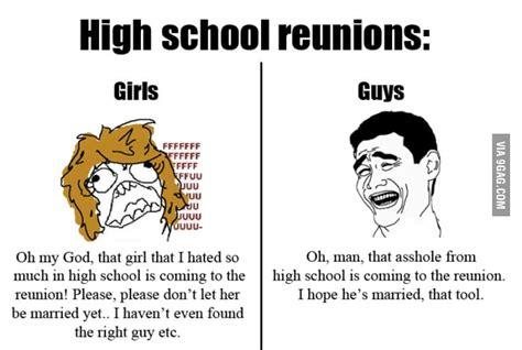 High School Reunion Meme - high school reunions 9gag