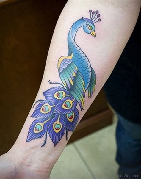 peacock wrist tattoo 31 awesome peacock feather tattoos on wrist