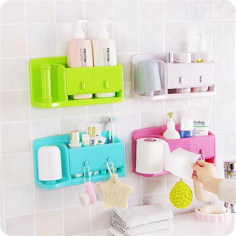 bed bath and beyond totowa toiletries holder bathroom self adhesive kitchen storage