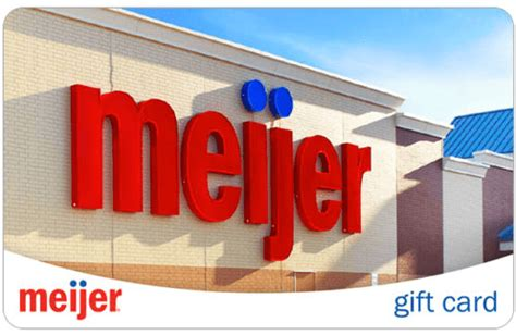 Meijer Gift Card - meijer gift card pay 94 for 100 bargains to bounty
