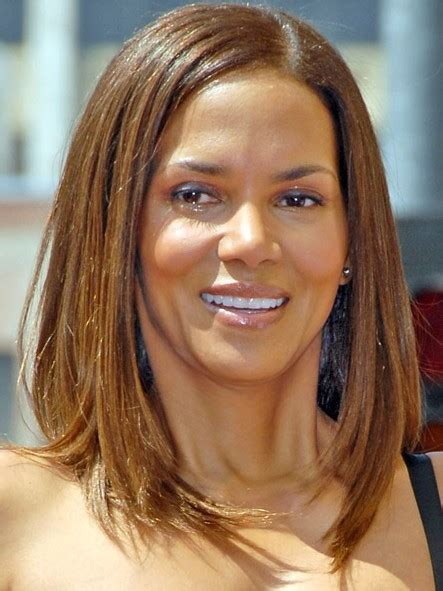 halle berry bob cut hairstyles halle berry long bob hairstyle casual straight hair