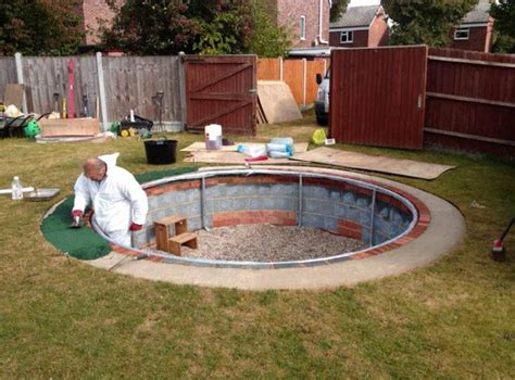 diy backyard pool inground pool diy pool design ideas
