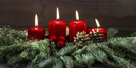 images of christmas candles a definitive list of holiday candles ranked huffpost