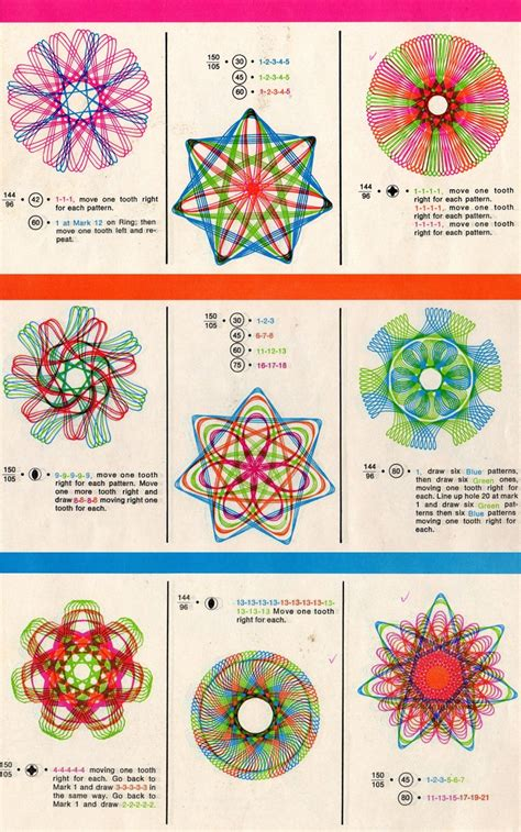 design pattern guide 40 best images about spirograph designs on pinterest