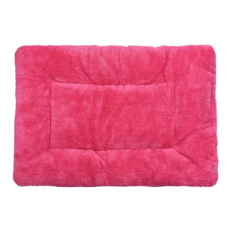 pet soft warm mat blanket blue blanket fleece pet cushion puppy cat bed soft warm