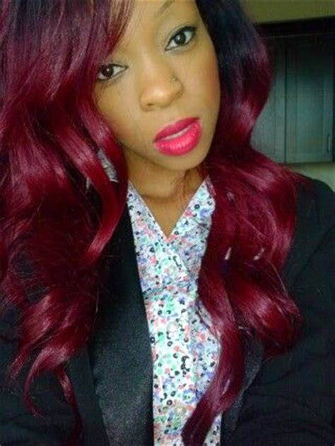 weave bob red dyed pinterest the world s catalog of ideas