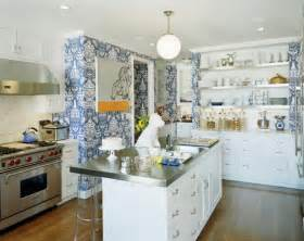 wallpaper in kitchen ideas how to instantly upgrade your kitchen without spending a