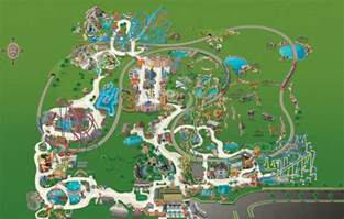 busch gardens florida map busch gardens park map