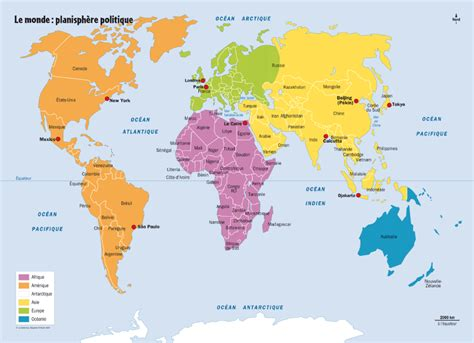 Printable World Map In French | beginning french first lesson plan for ages 8 12