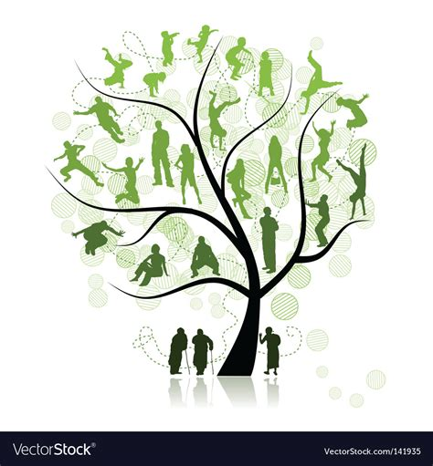 Family Tree Royalty Free Vector Image Vectorstock Vintage Family Tree Royalty Free Stock Images Image 32018779