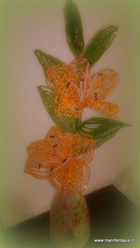fiori di perline tutorial tutorial fiori di perline il giglio manifantasia